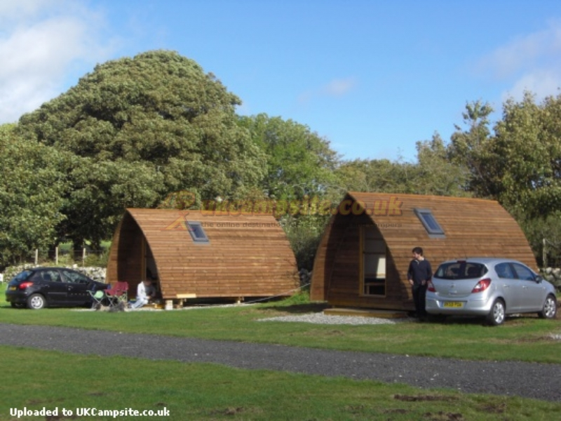 Camping Pods Wales Near Beach