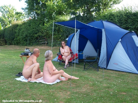 Nudist colony campground