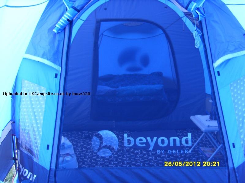 Gelert Aluminium Guyline Guyrope Runners Pack of 6 Camping Tent Accessories