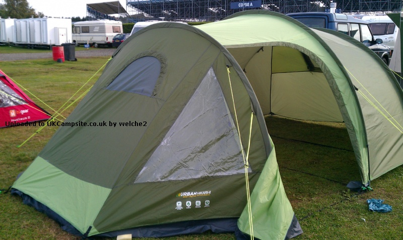 If ... & Halfords Urban Escape Hikari 4 Tent Reviews and Details