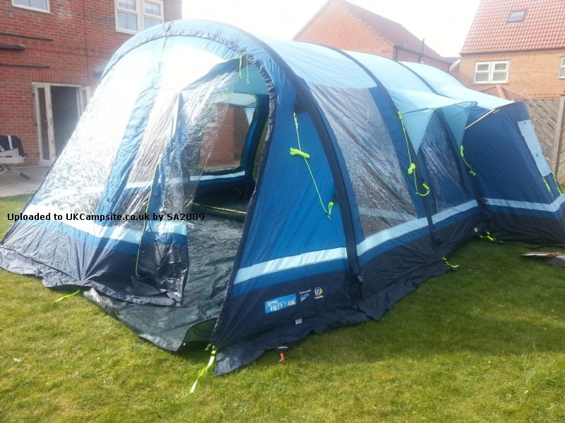 Kampa Filey 6 Air Tent Reviews And Details Page 2