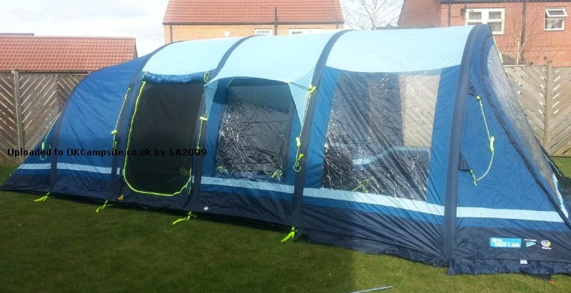 Kampa Filey 6 Air Tent Reviews And Details