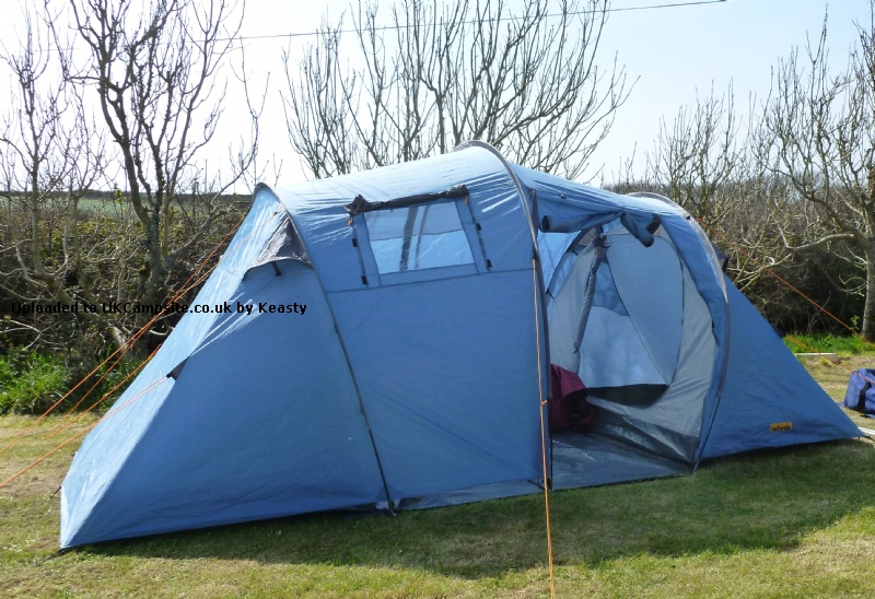 4 man family tent halfords