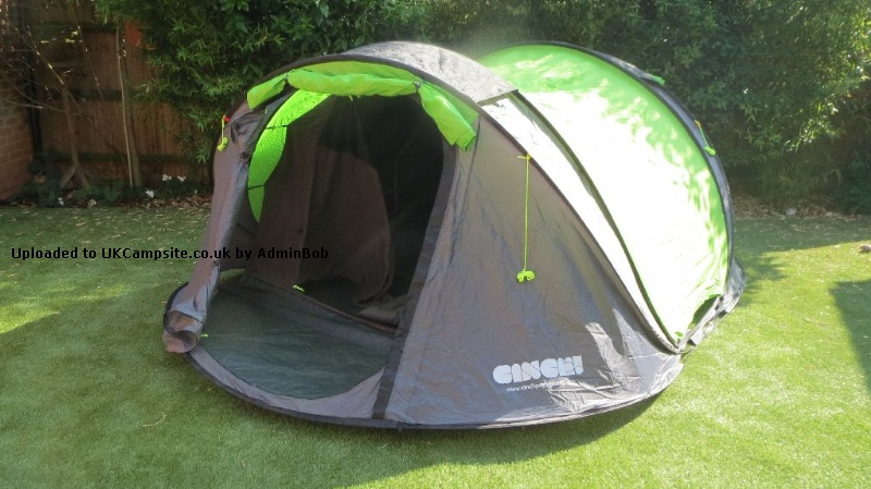 Tent 4 PERSON POP UP Excellent