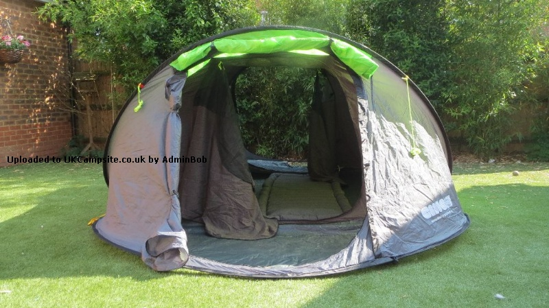 the best attitude 59276 fe4cd Cinch 4 Man Pop Up Tent Reviews and Details