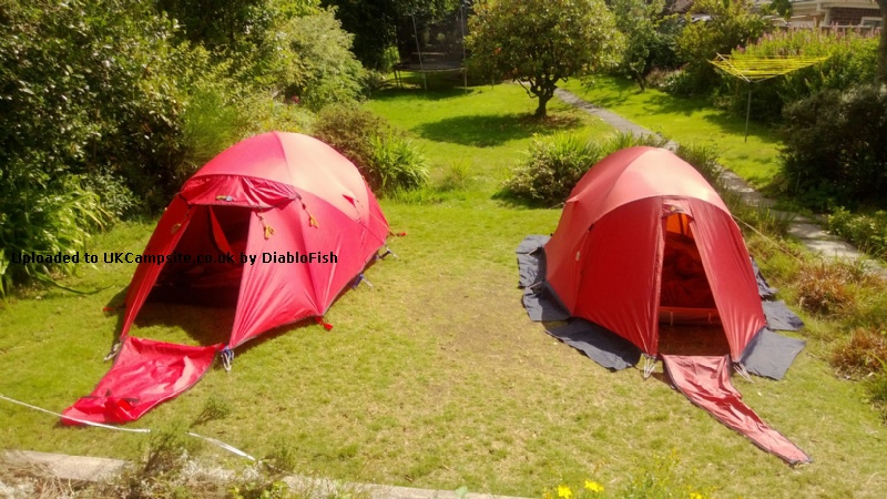 Member Uploaded Images - click to enlarge & Terra Nova Super Quasar Tent Reviews and Details