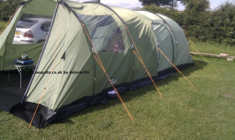 If ... & Vango Icarus 500 Enclosed Canopy Tent Extension Reviews and Details