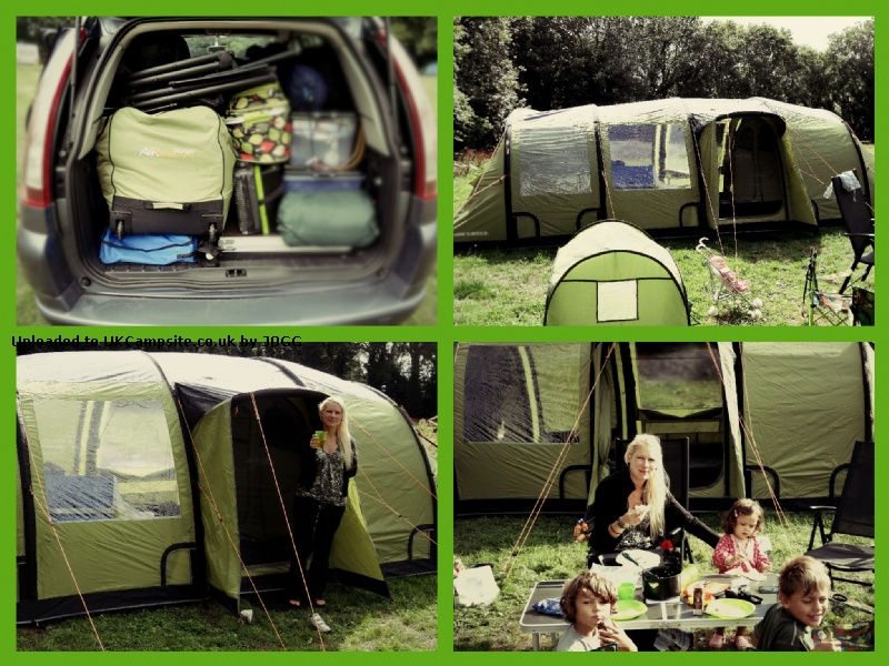 Vango Infinity 800 Airbeam Tent Reviews And Details