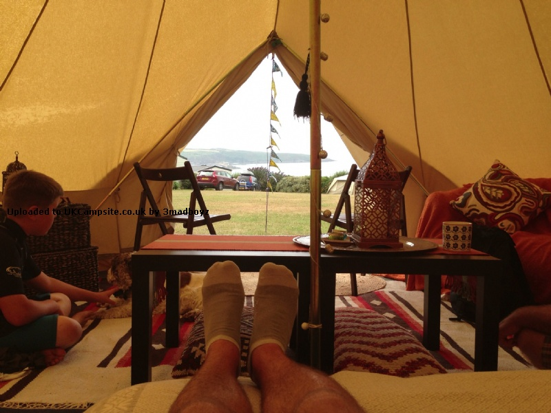 If ... & Boutique Camping 5 Metre Bell Tent Reviews and Details