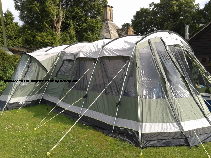Outwell Georgia 5P Front Awning Tent Extension Reviews and ...