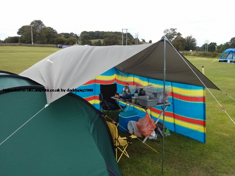 Member Uploaded Images - click to enlarge  sc 1 st  UK C&site & Quechua Tarp Utility Tent / Tarp Reviews and Details