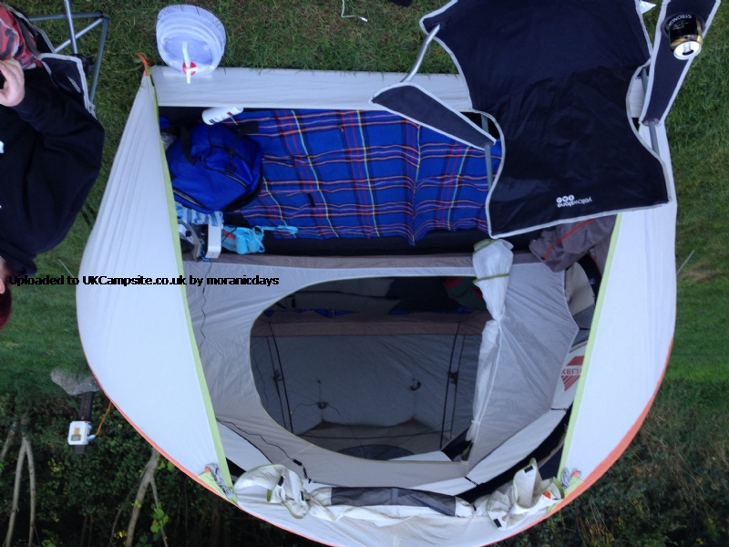 If ... & Kelty Mach 4 Airpitch Tent Reviews and Details