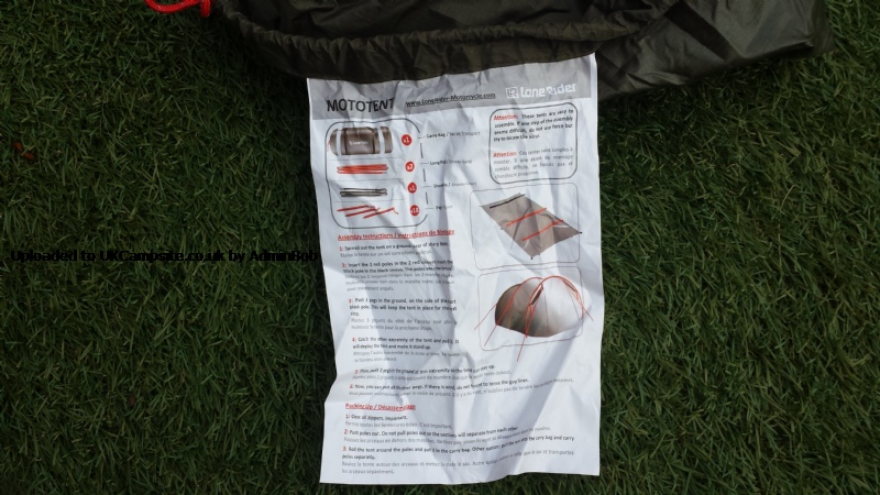 how to put up tent instructions
