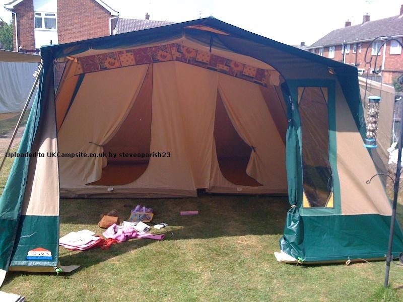 Recherche proprio d'une tente ANTIQUA CABANON 1311