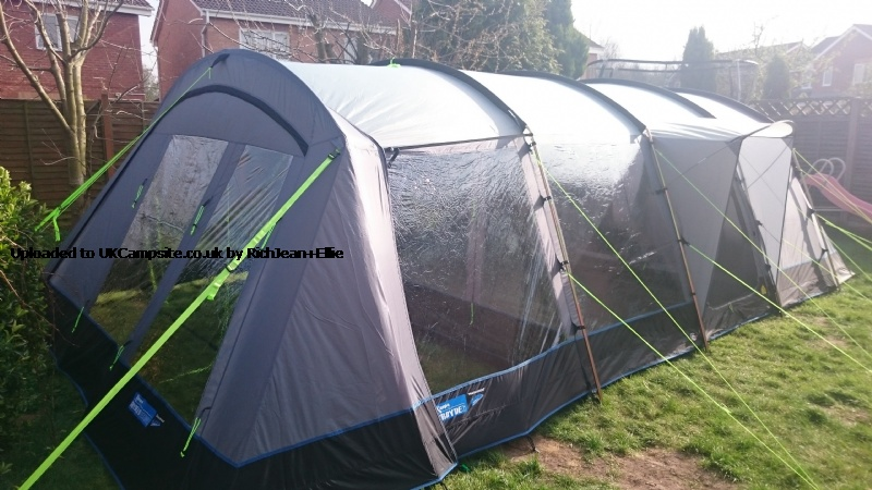 Kampa Croyde 6 Vestibule Tent Extension Reviews And Details