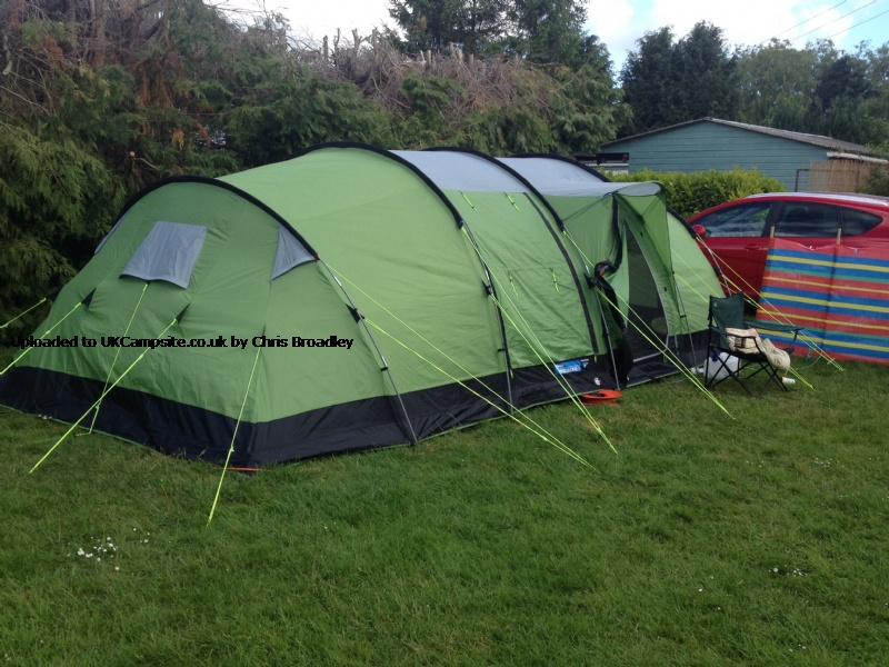 If ... & Kampa Watergate 8 Tent Reviews and Details