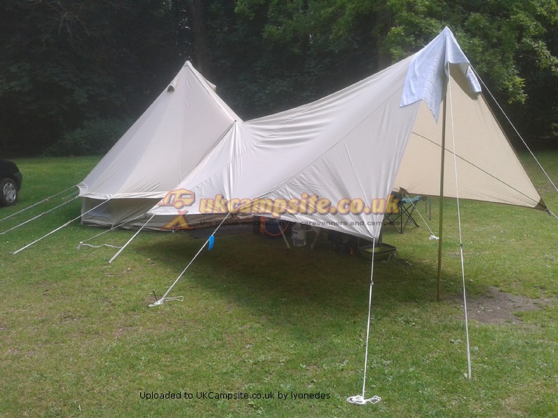 Member Uploaded Images - click to enlarge & Karma Canvas 4 metre ZIG Bell Tent Reviews and Details