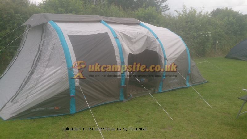 Member Uploaded Images - click to enlarge & Quechua 6.3XL Family Seconds Air Tent Reviews and Details