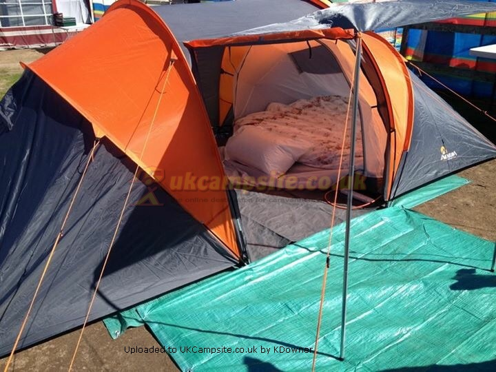 Member Uploaded Images - click to enlarge & Halfords Aventura 4 Man Tunnel Tent Reviews and Details