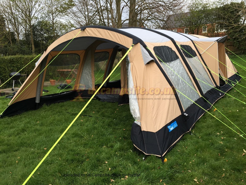 If ... & Kampa Studland 8 Air Classic Tent Reviews and Details