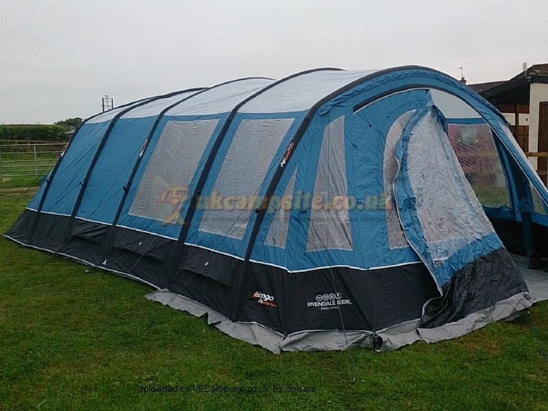A review of our tent Vango 800XL