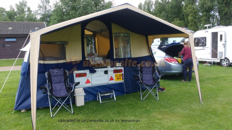 awning for conway trailer tent