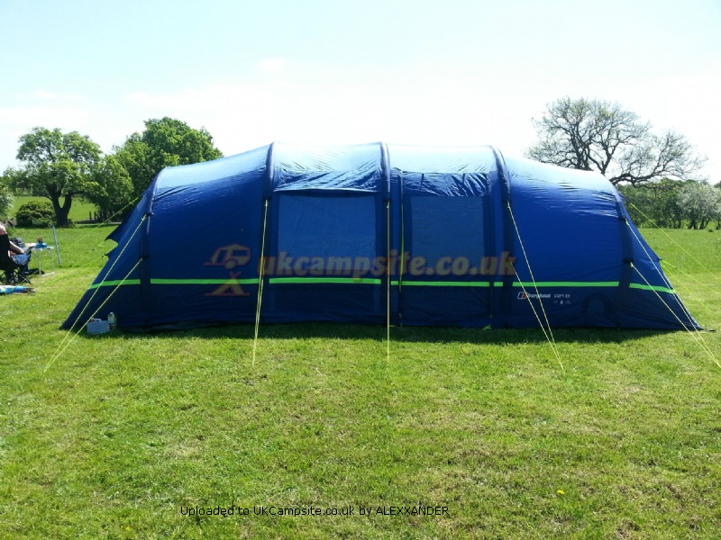 berghaus 8 man blow up tent