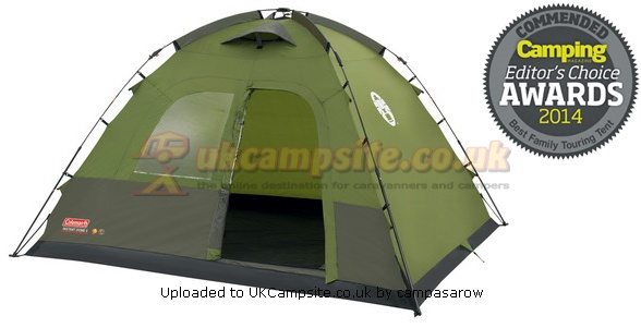 If ...  sc 1 st  UK C&site & Coleman Instant 5 Dome Tent Reviews and Details
