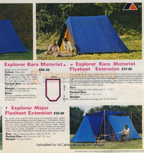 If ... & Blacks Motorist Explorer Tent Reviews and Details