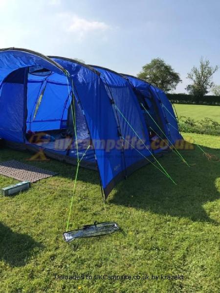 Eurohike Hampton 6 Man Family Tent