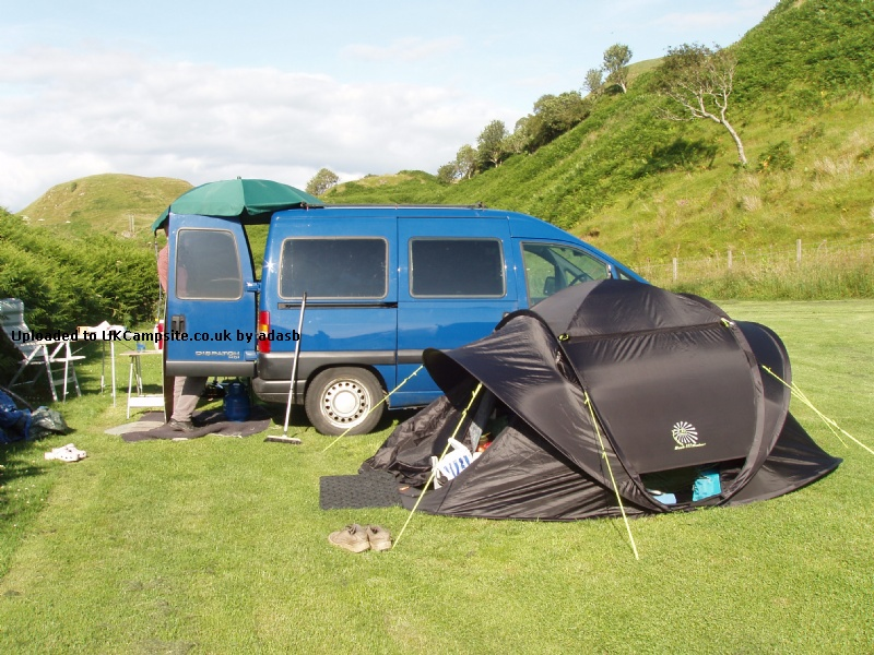 Member Uploaded Images - click to enlarge & Eurohike Flash Mach III Blackout Tent Reviews and Details