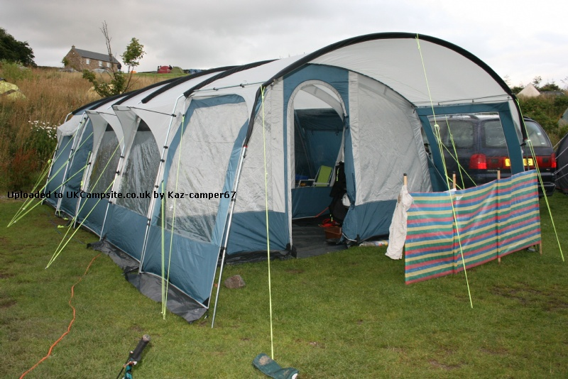 Replacement awning for travel trailer