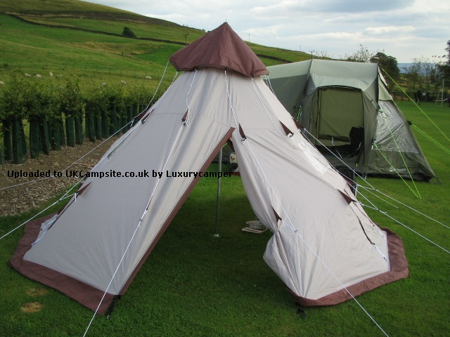 Member Uploaded Images - click to enlarge & Pro Action/Argos 4 Person Teepee Tent Reviews and Details