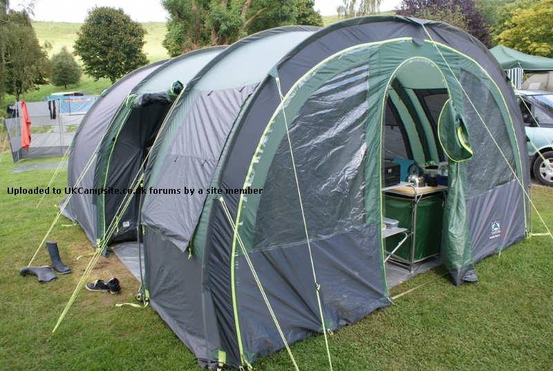 If ... & SunnCamp Family Vario 6 Tent Reviews and Details