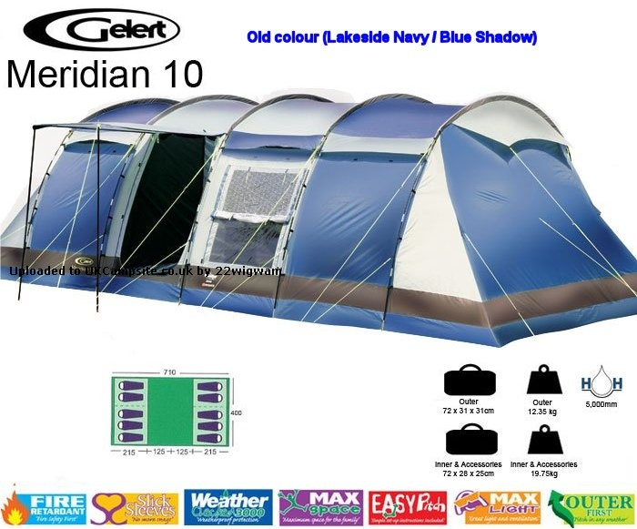 If ...  sc 1 st  UK C&site & Gelert Beyond Meridian 10 Tent Reviews and Details