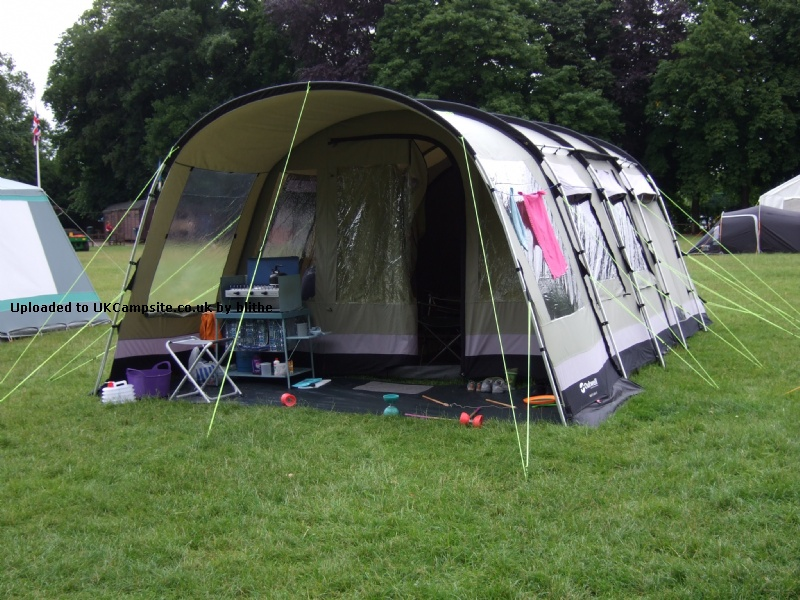 Zelt Outwell Wolf Lake 5 : Outwell wolf lake tent enjoying the
