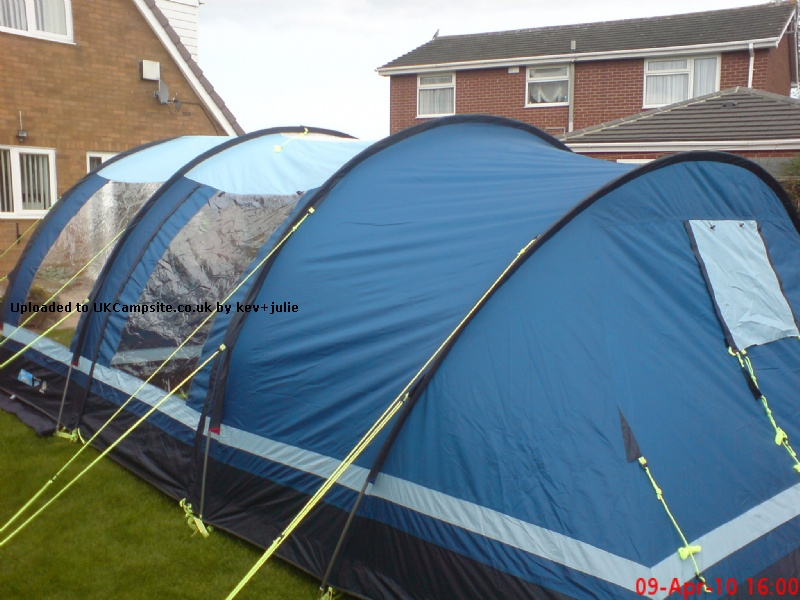 Kampa Fistral 4 Tent Reviews And Details