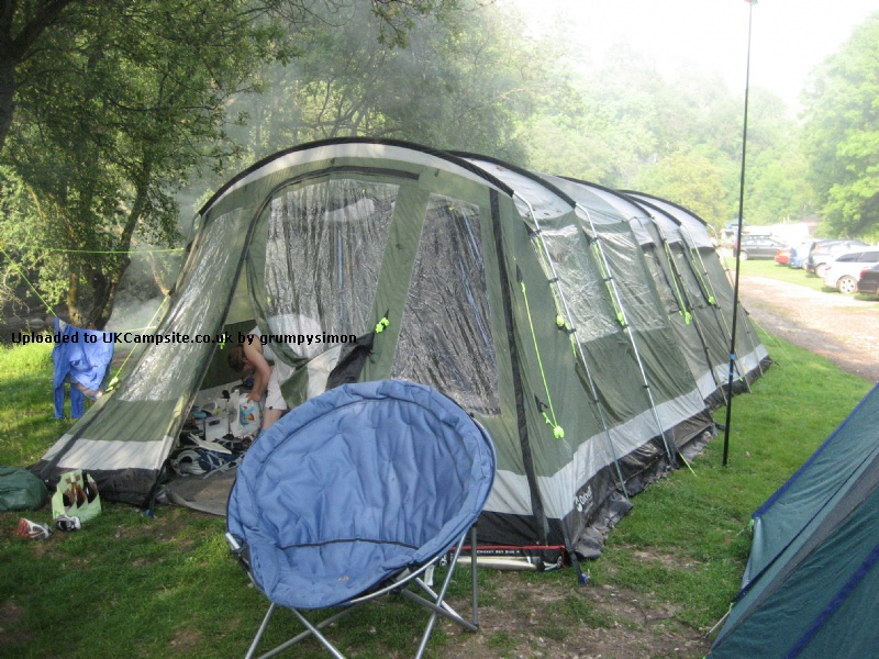Outwell montana 6 front awning tent extension reviews and for Montana tent company