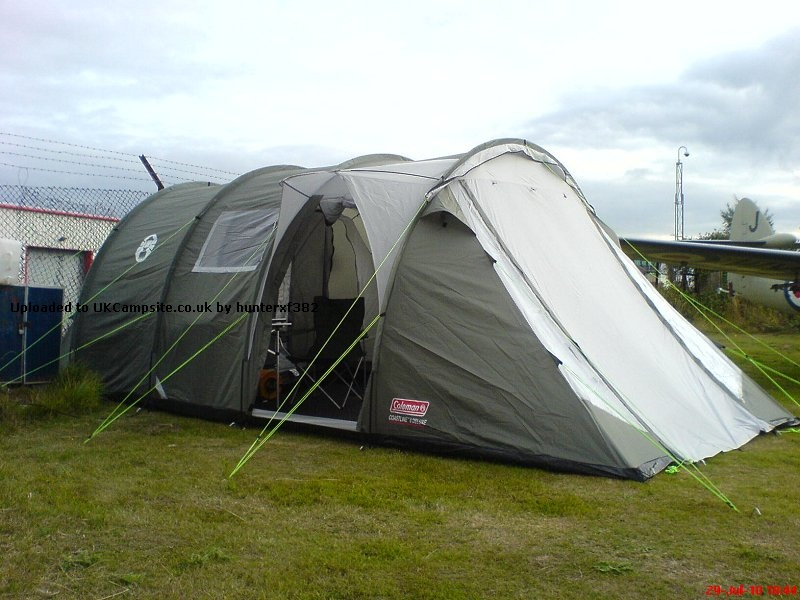 If ... & Coleman Coastline 6 Deluxe Tent Reviews and Details