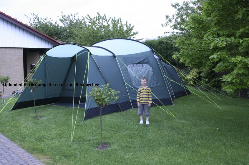 Second Hand Three Bedroom Tent With Living Room