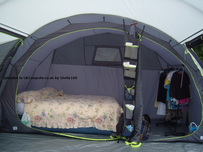 how to set up a family tent