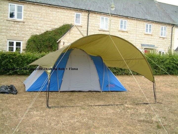 NEW GREEN SUNNCAMP GALAXY CARAVAN LARGE SUPER PORCH AWNING ALLOY