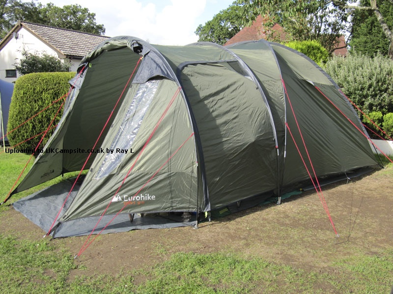 Member Uploaded Images - click to enlarge & Eurohike Eden 5 Tent Reviews and Details