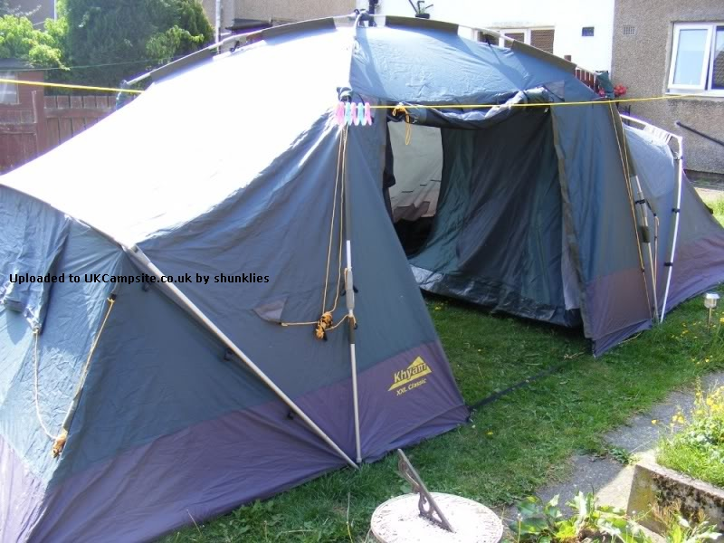 If ... & Khyam Ridgi Dome XXL Classic Tent Reviews and Details