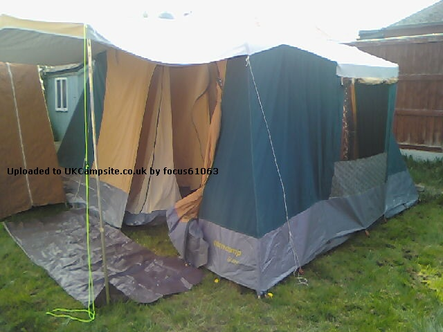 SunnCamp Gites 5 Tent Reviews and Details