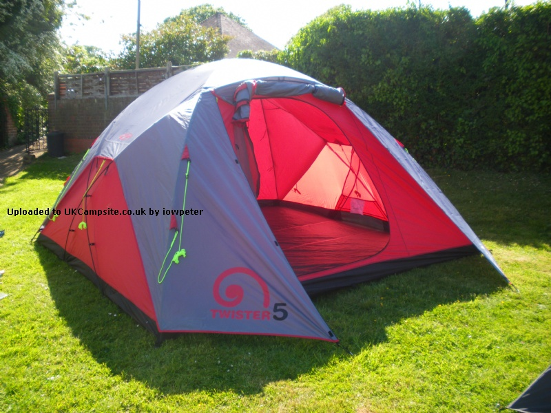 If ... & Gelert Twister 5 Tent Reviews and Details