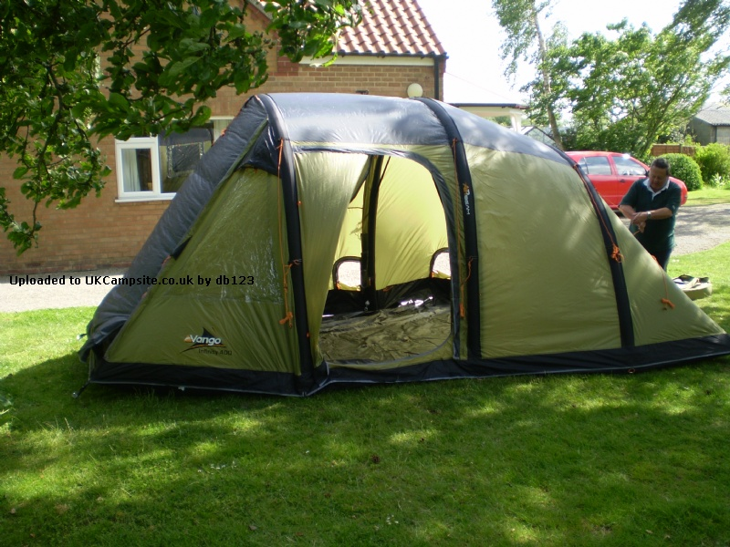 If ... & Vango Infinity 400 Airbeam Tent Reviews and Details