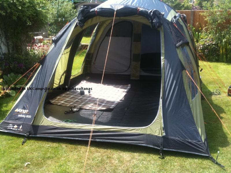 vango infinityn600 airbeam tent