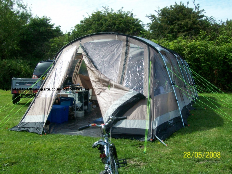 Member Uploaded Images - click to enlarge & Outwell Arkansas 5 Front Awning Tent Extension Reviews and Details