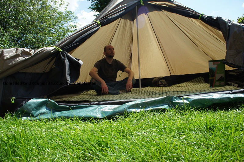 Member Uploaded Images - click to enlarge & Jack Wolfskin Pyramid Tarp Tent Reviews and Details